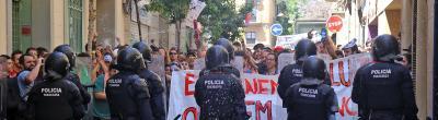 Enquesta: Us sembla que hi ha hagut excessos en l'actuació policial pel Banc Expropiat de Gràcia?