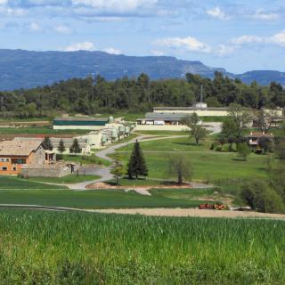 Granja típica catalana de la comarca d'Osona