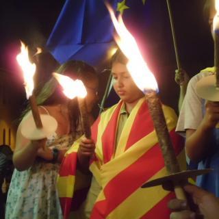 Torxes per la independència, Caldes de Montbui