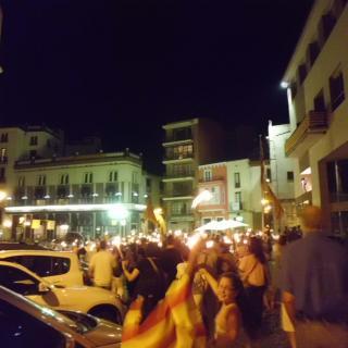 Plaça del Lleó, torxes per la independència