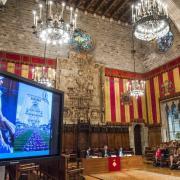 Barcelona. presentació del Girona Temps de Flors a Barcelona      Josep Losada/EL PUNT