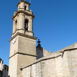 Campanar de l'església parroquial de Sant Andreu