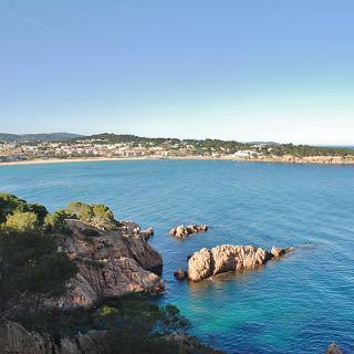 Vista de la platja de Sant Pol