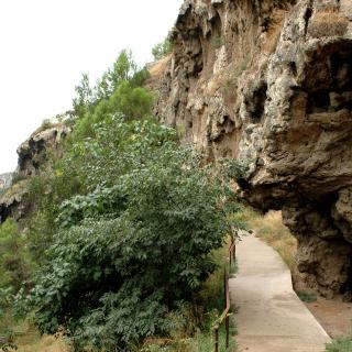 Cinglera de Capelló  de l'abric Romani
