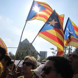 La V, la Via Catalana 2014