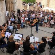 Girona: Temps de Flors, fotos de ambient per veure las aglomaracions de gent.  457#Joan Sabater