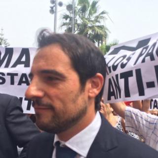 Manu Reyes, entrant al ple de Castelldefels.