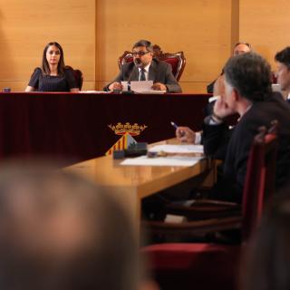 Ple de l'Ajuntament de Mataró