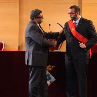 El socialista David Boté, nou alcalde de Mataró