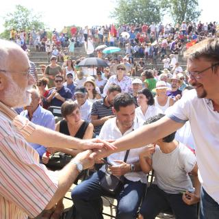 En Comú Podem celebra un acte unitari i es referma en la via del referèndum