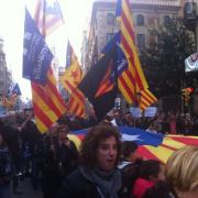 Manifestació Volem acollir