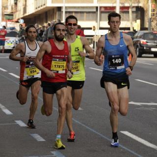 Marató de Barcelona 2017. Tram Fabra i Puig