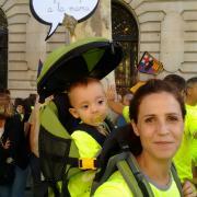 Les manifestacions per la independència són familiars
