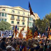 Cruïlla dels carrers Bruc i Aragó