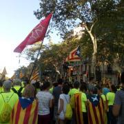 Manifestants de la Catalunya del Nord