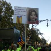 Soraya ha estat un dels objectius de la crítica independentista