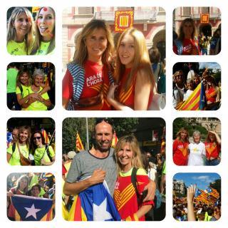 Esther Jofre: Collage amb gent que estimo, carregat de somriures i emocions