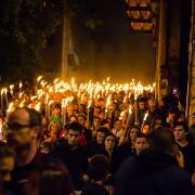 Marxa de Torxes 11 Setembre 2017. Girona