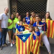 Família unida a favor de la democràcia