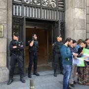 La Guàrdia Civil a la conselleria de Governació de la Generalitat