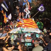 Conselleria d'Economia a Rambla Catalunya
