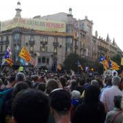 Barcelona, Gran via-Rambla Catalunya 1 les 19.44