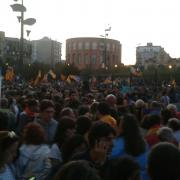Concentració a Girona
