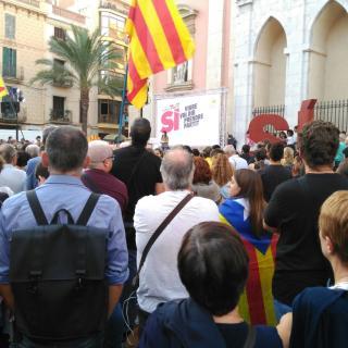Concentració el 20.09.17 a la plaça de les Neus Vilanova i la Geltrú