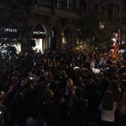 Continuen els concentrats a Barcelona, i són dos quarts d'onze del 21.09.17