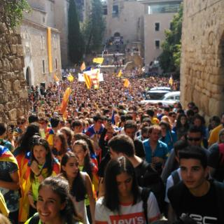 Estudiants de la UDG Girona
