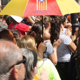 Sota el paraigua català