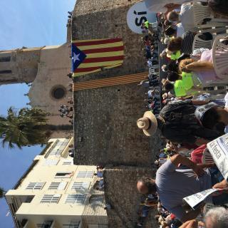 Acte en favor del Sí a Sitges
