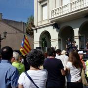 Marató per la Democràcia, davant de l'Ajuntament de Vilassar de Mar