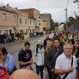 Carrer velòdrom a Mataró