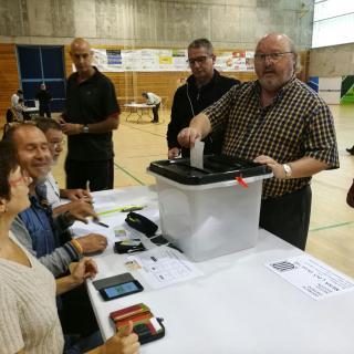 Vot de l'alcalde