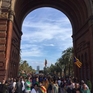 Arc de Triomf ara mateix