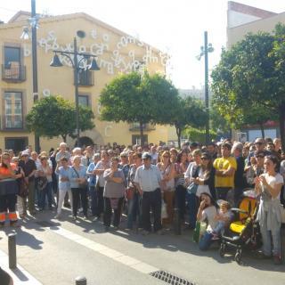 Concentració 17-O. Ajuntament Pineda de Mar