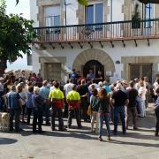 Concentració 17-O. Ajuntament Tordera