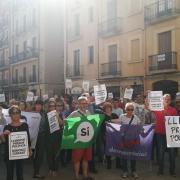 Concentració 17-O. Ajuntament de Tarragona