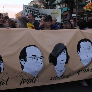 Manifestació del 11-N a Barcelona
