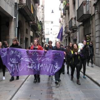 Grup de protesta per la ciutat de Girona