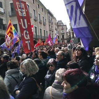 Plaça del Vi de Girona