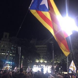 La plaça Catalunya, ara