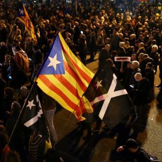 Camí de la delegació del govern espanyol a Barcelona