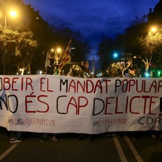 Catalunya al carrer a Barcelona