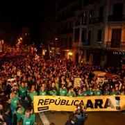 Els barcelonins abocats al carrer