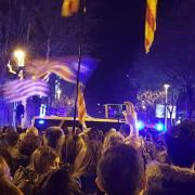 La pressió popular continua a prop de la delegació del govern espanyol