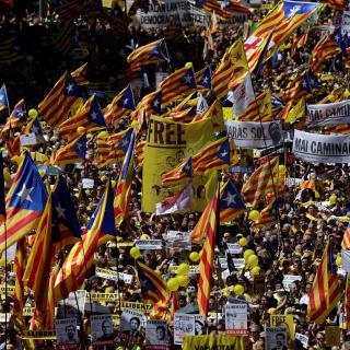 Clam multitudinari per la llibertat dels presos polítics