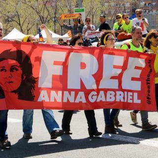 Els participants han reclamat la llibertat dels