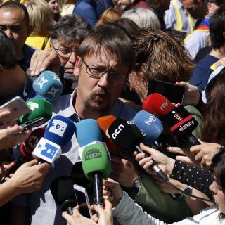 El líder dels comuns, Xavier Domènech, sobre la manifestació: